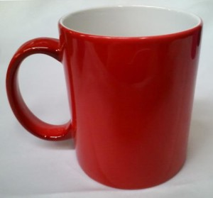 coffe cup red